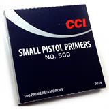CCI 500 SMALL PISTOL